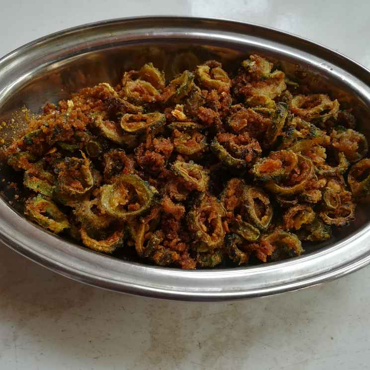Photo of Bittergourd fry by Krishnasamy Vidya Valli at BetterButter