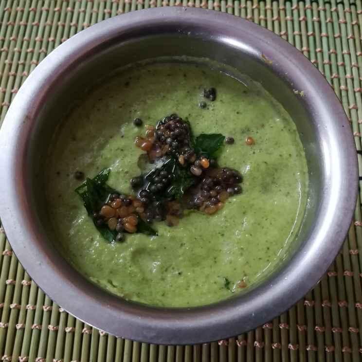 Photo of Coriander coconut chutney by Krishnasamy Vidya Valli at BetterButter