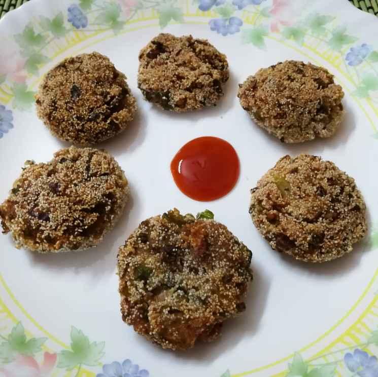 Photo of Green gram sweet potato cutlet by Krishnasamy Vidya Valli at BetterButter