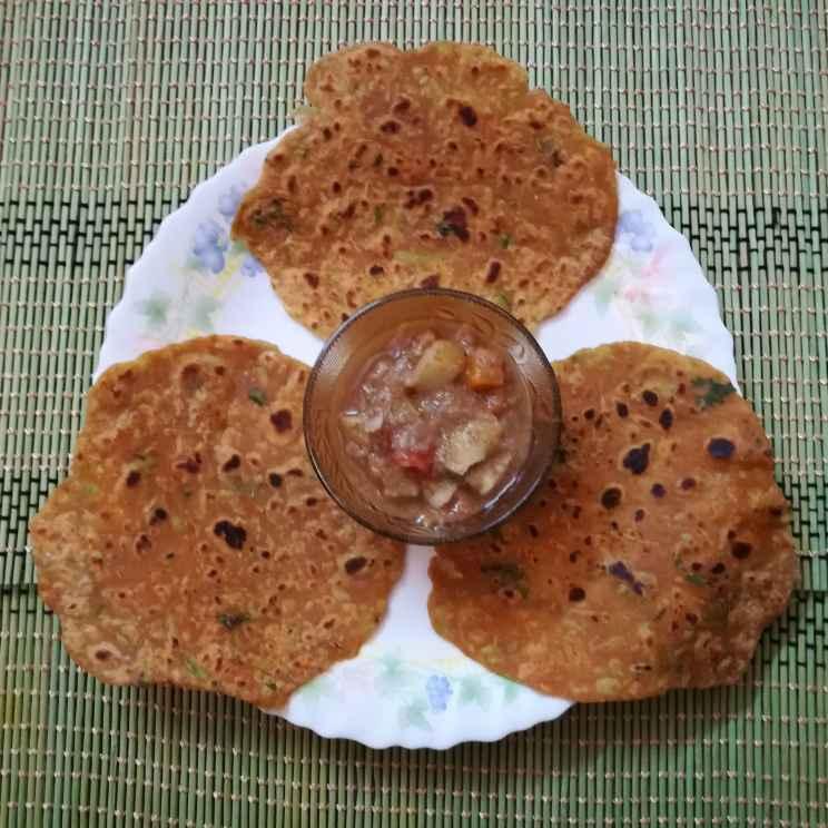 Photo of Bottle gourd chapathi by Krishnasamy Vidya Valli at BetterButter