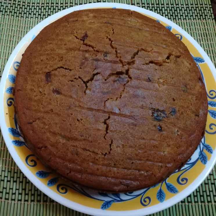 Photo of Eggless dry fruits plum cake by Krishnasamy Vidya Valli at BetterButter