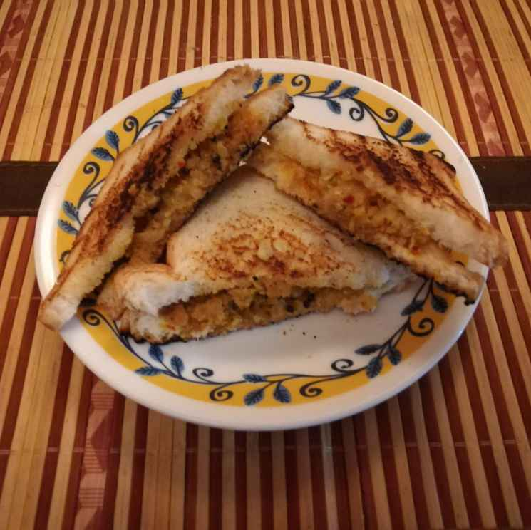 Photo of Instant bread toast by Krishnasamy Vidya Valli at BetterButter