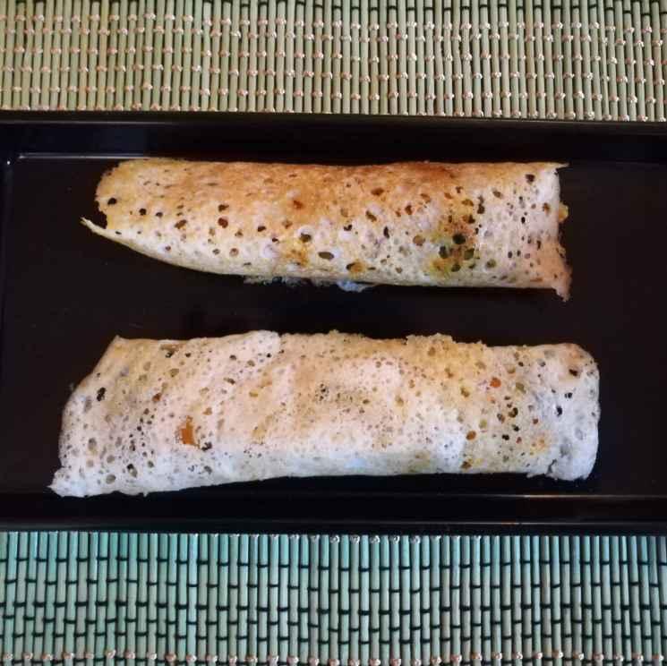Photo of Vegetable dosai roll by Krishnasamy Vidya Valli at BetterButter