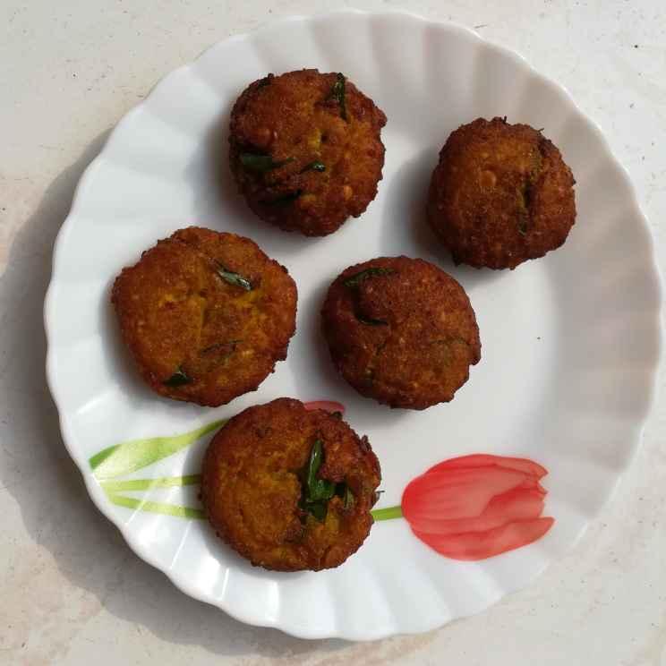 Photo of Pumpkin vadai by Krishnasamy Vidya Valli at BetterButter
