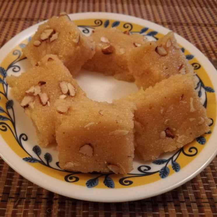 How to make Sooji milk cake