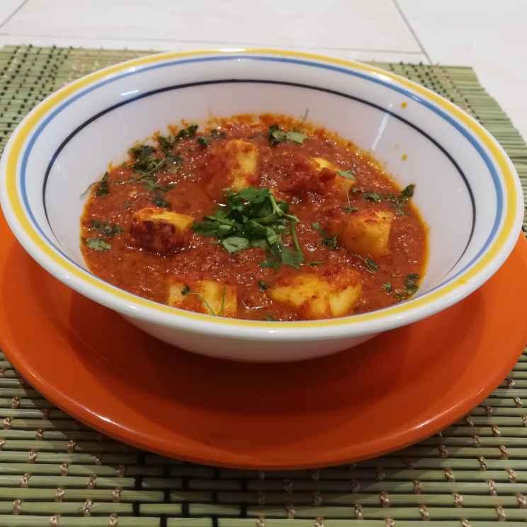 Photo of Mava paneer gravy (no onion no garlic) by Krishnasamy Vidya Valli at BetterButter