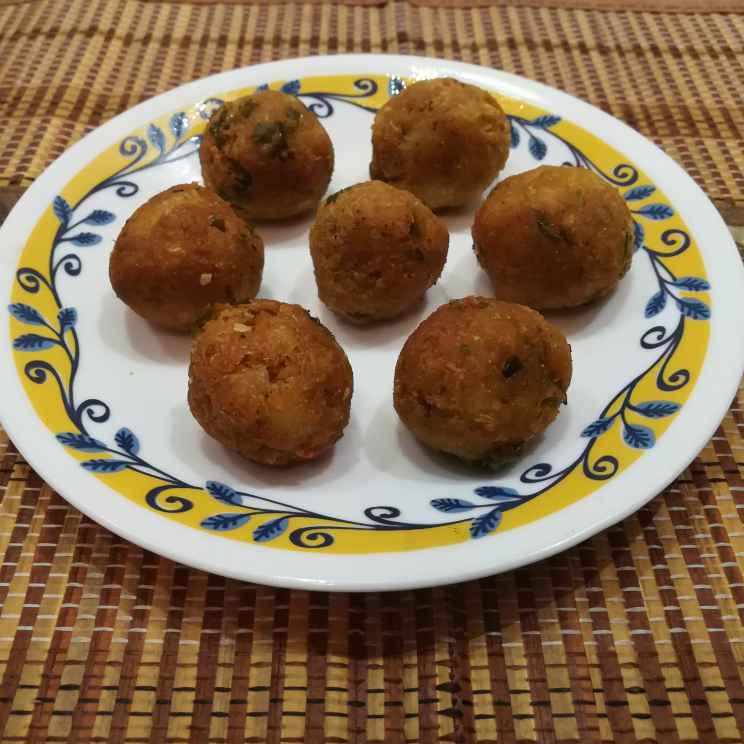 Photo of Aloo sweetcorn balls by Krishnasamy Vidya Valli at BetterButter