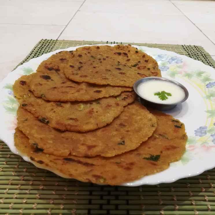 How to make சூஜி மசாலா சப்பாத்தி