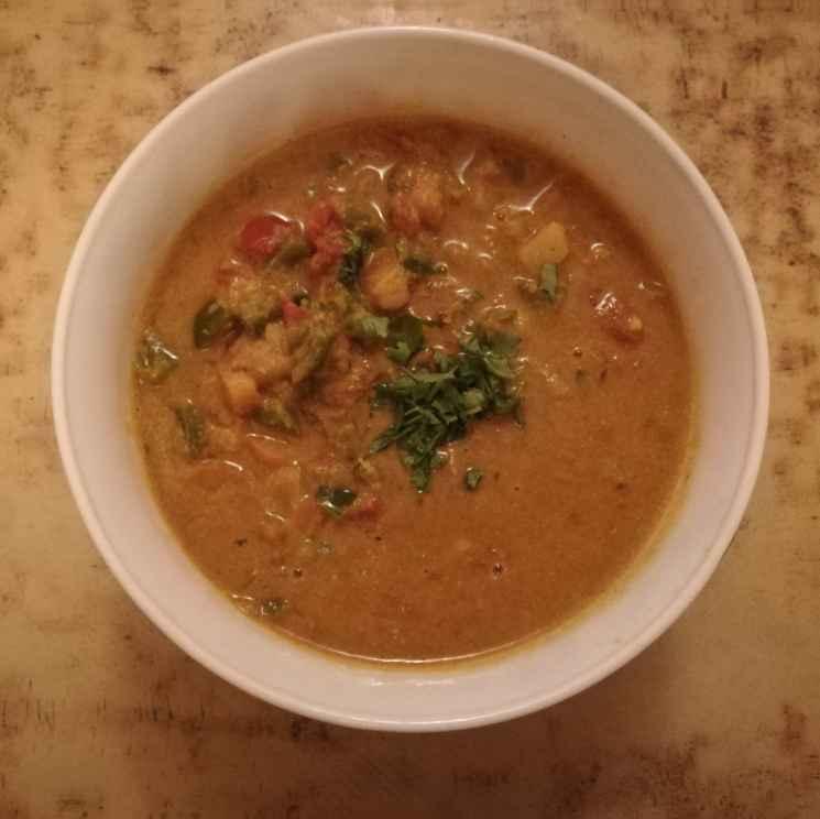 Photo of No onion no garlic mixed veggies kuruma by Krishnasamy Vidya Valli at BetterButter