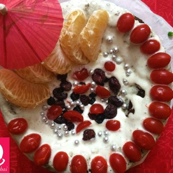 Photo of Fruits and Chocolate Gateau by Kriti Singhal at BetterButter