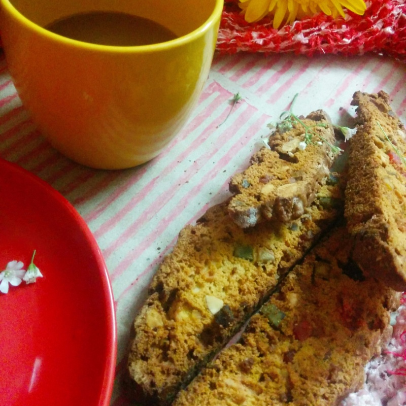 How to make Berry Biscotti with Rum