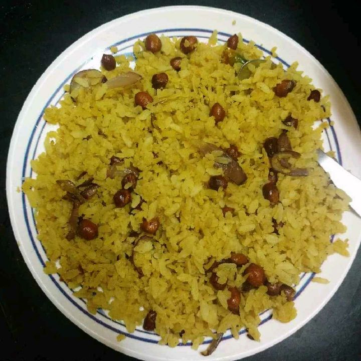 How to make Spicy poha