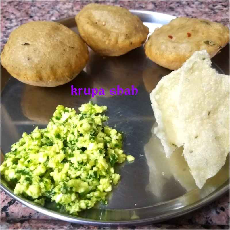 Photo of Kachu and Phulia puri by Krupa Shah at BetterButter