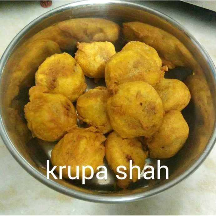 Photo of Stuffed pani-puri pakora by Krupa Shah at BetterButter