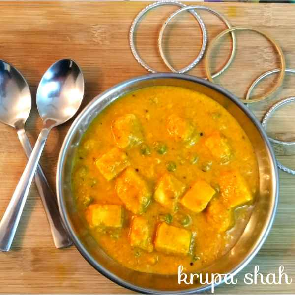 Photo of Restaurant style matar paneer by Krupa Shah at BetterButter