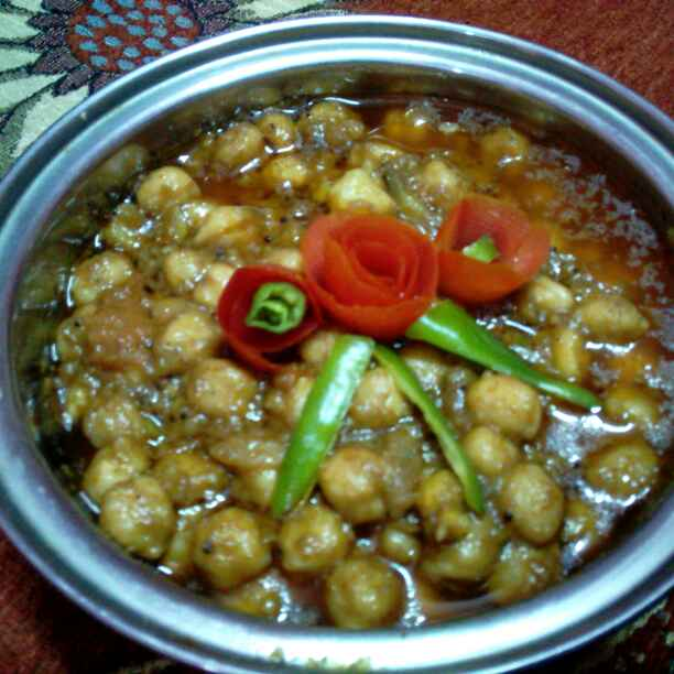 How to make Chatpate chole (bagair lahsun pyaaj)