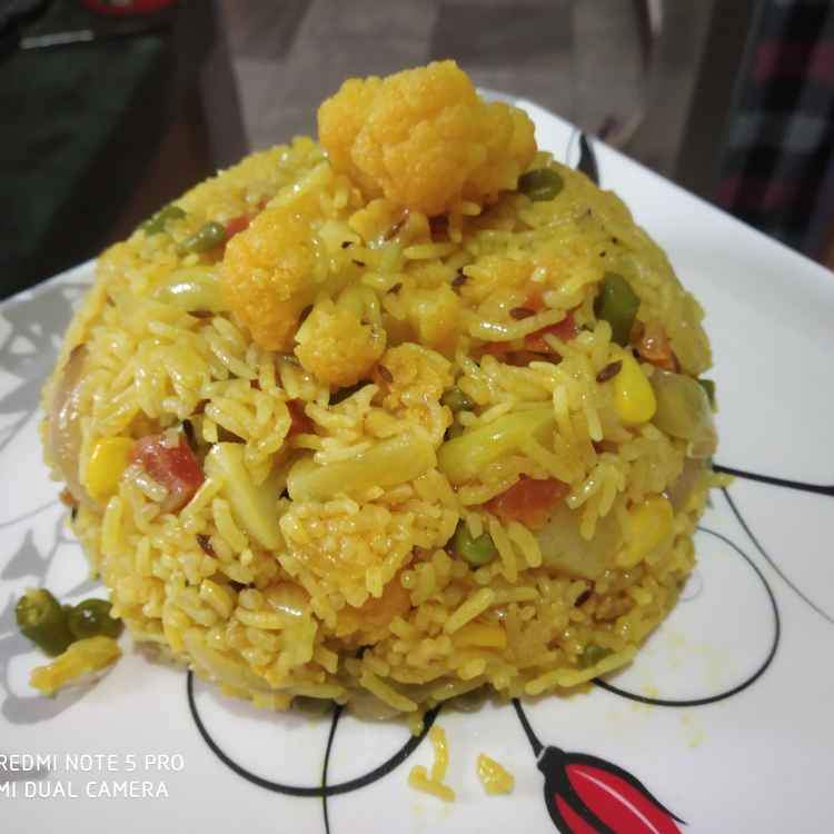 Photo of Veggies Biryani by Kuldeep Kaur Arora at BetterButter
