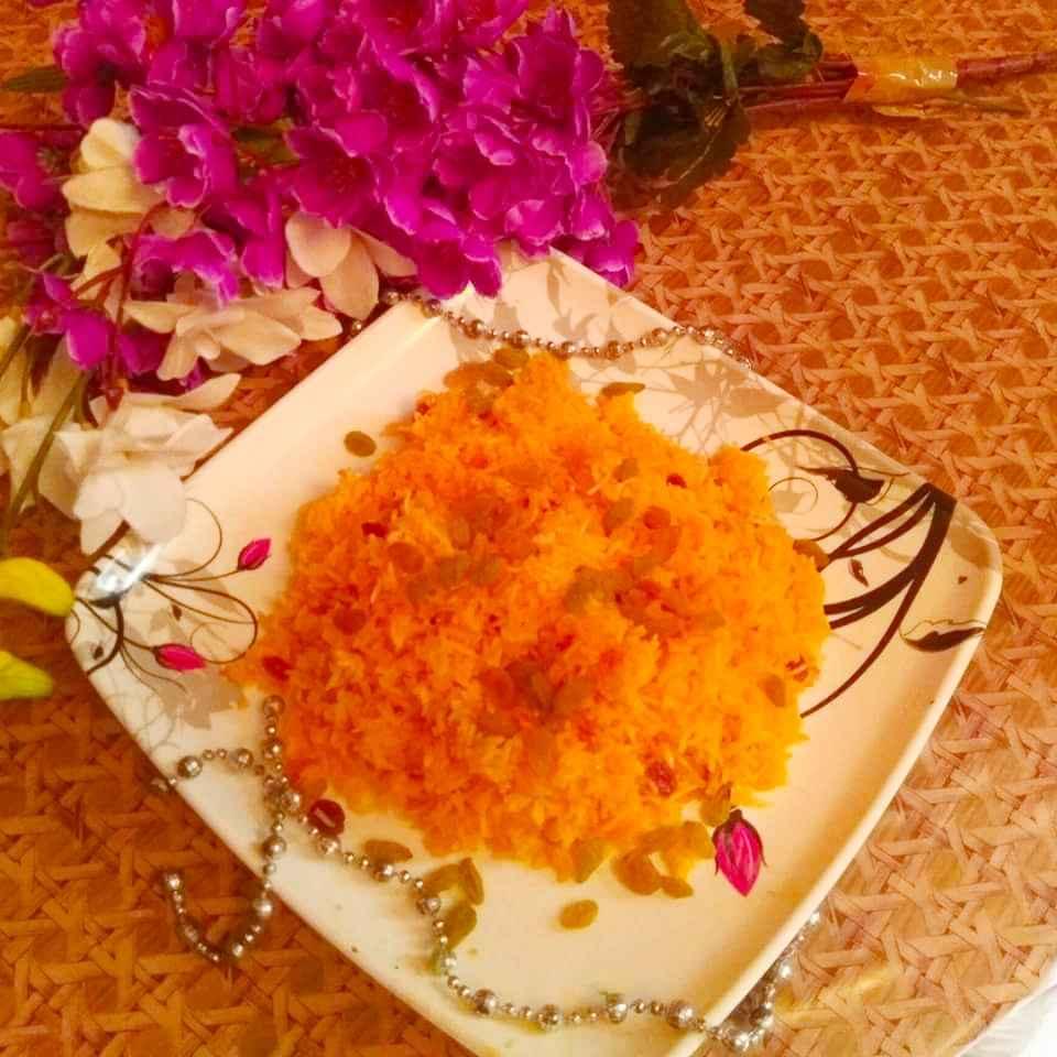 Photo of Kesariya Sweet Rice by Kuldeep Kaur Arora at BetterButter
