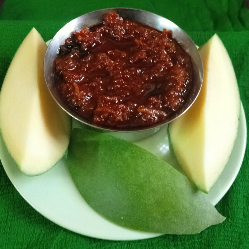 How to make Grated Mango Pickle