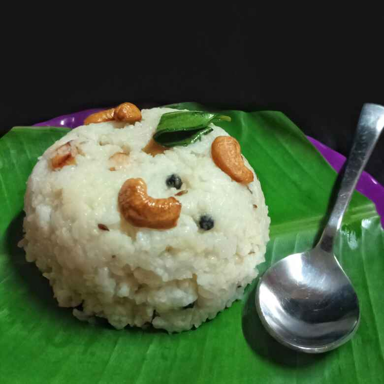 How to make Ven Pongal