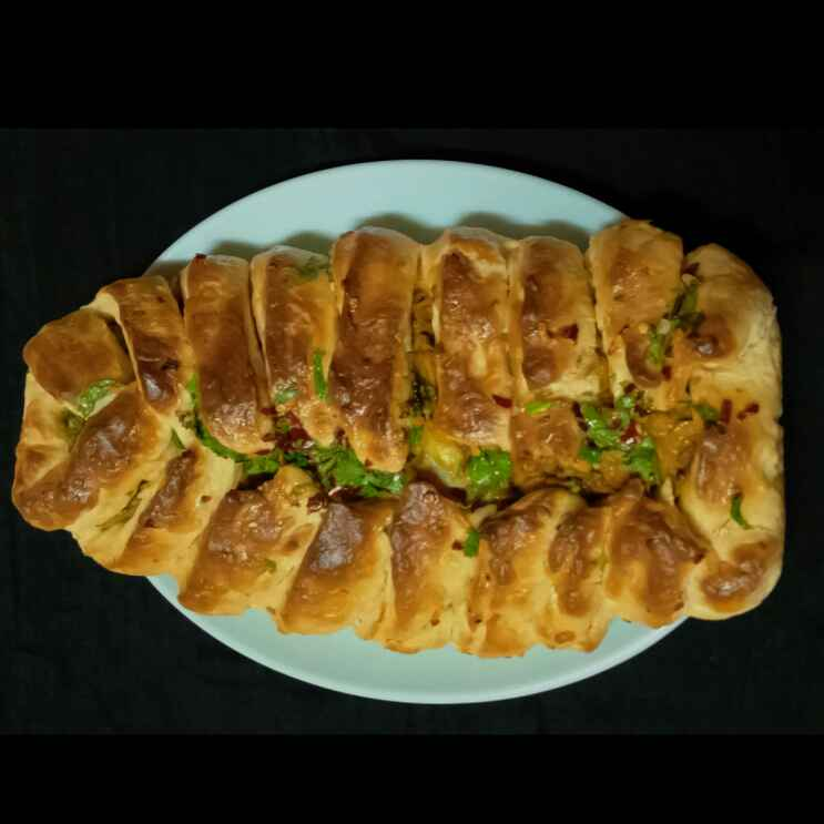 How to make Minced Chicken Braided Bread
