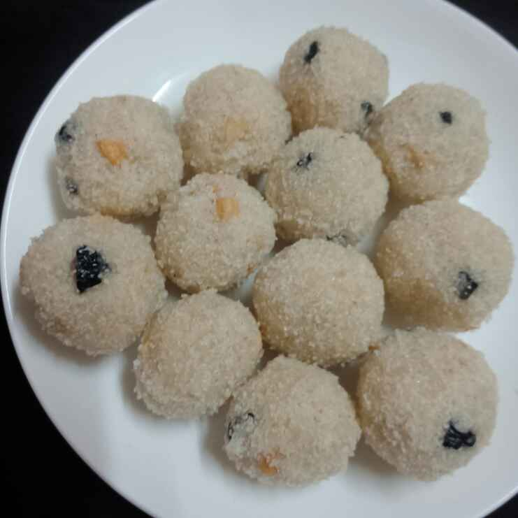 How to make Coconut Rava Ladoo