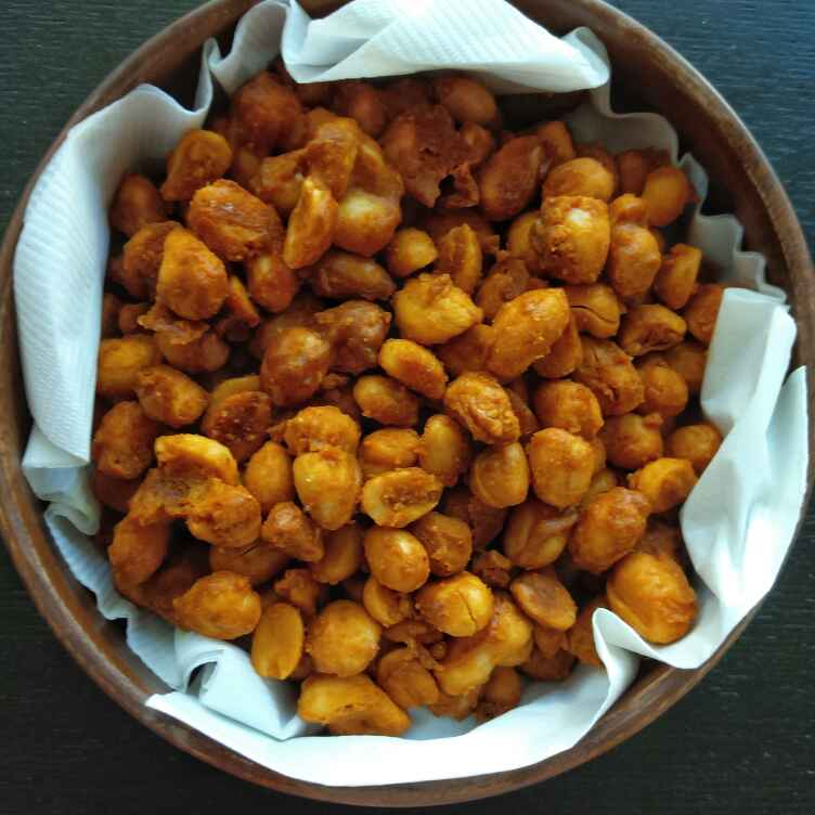 How to make Baked Masala Peanuts