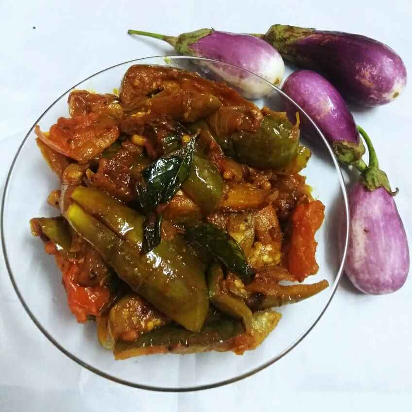 Photo of Spicy Brinjal Fry by Kumuda Elavazhagan at BetterButter