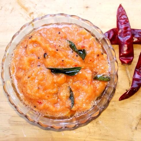 Photo of Red Chilli Chutney by Kurunji Kathambam at BetterButter