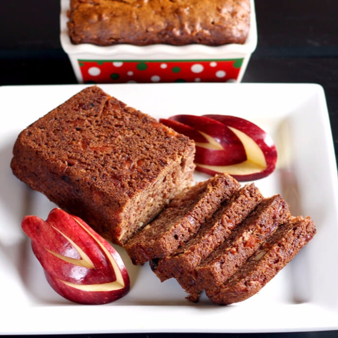 How to make Vegan Apple Dates Bread