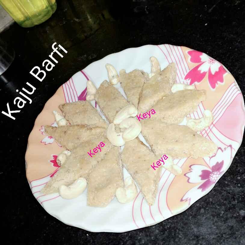 How to make কাজু বরফি
