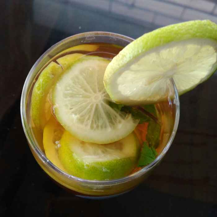 How to make Leamon Mint Ice Tea