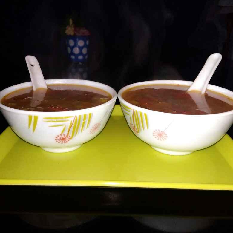 Photo of Chicken Vegs Soup by Keya Deb at BetterButter