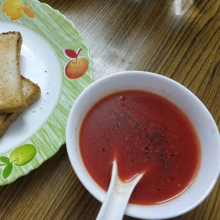 Photo of Beet root carrot soup by Lakshmi Bala at BetterButter