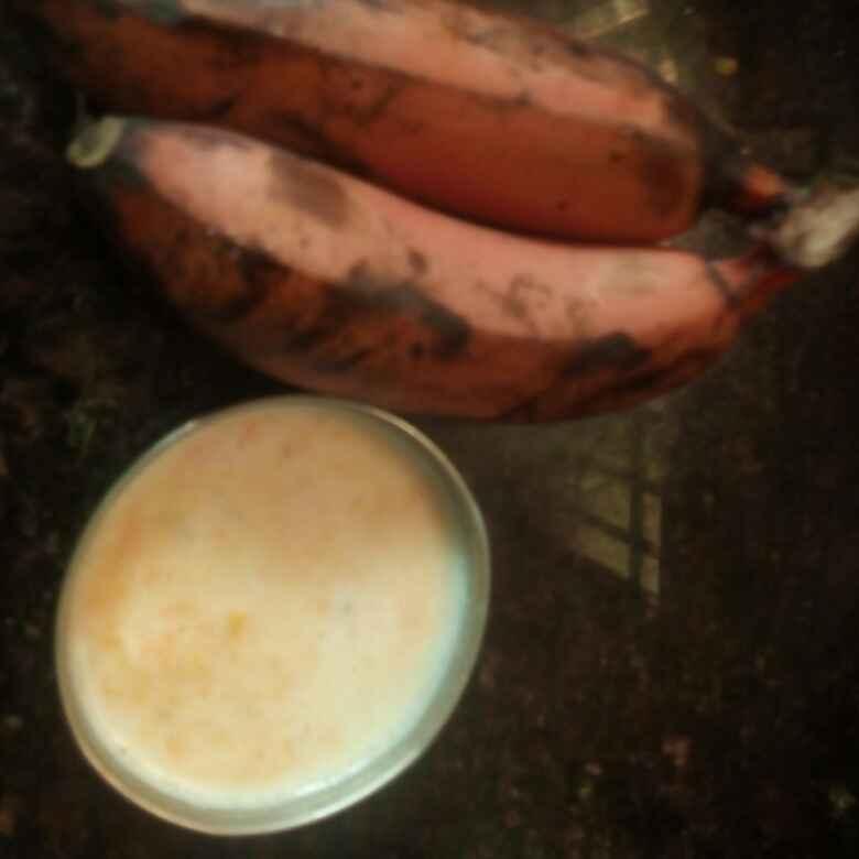 How to make Banana and papaya smoothie