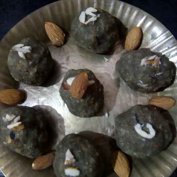 Photo of Bajra choorma laddu by Lakshmi Rajnikanth at BetterButter