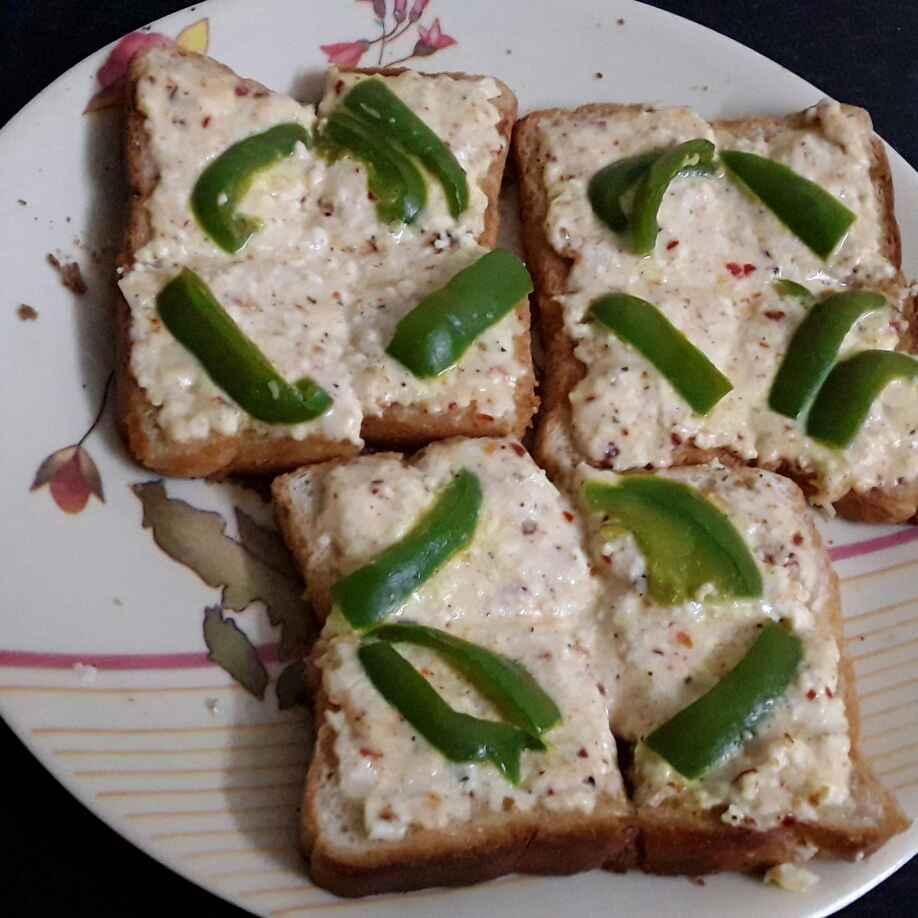 How to make Masala Toast