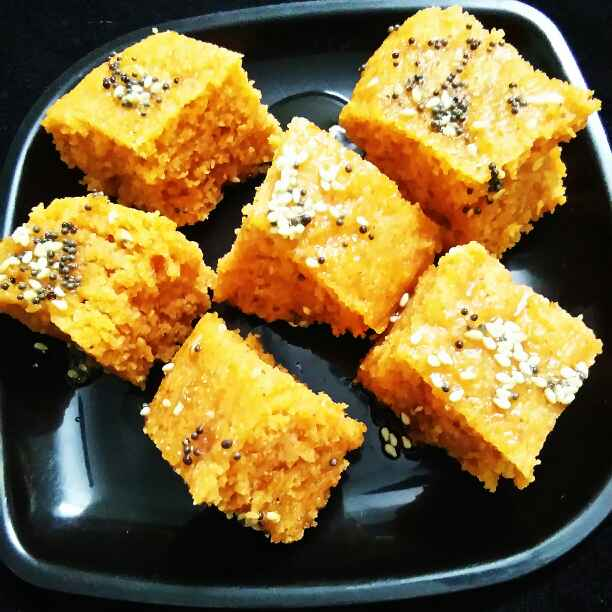 Photo of Tamatar dhokla by Neeru Gupta at BetterButter