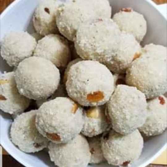 Photo of Sooji coconut laddu by Lalitha Kandala at BetterButter