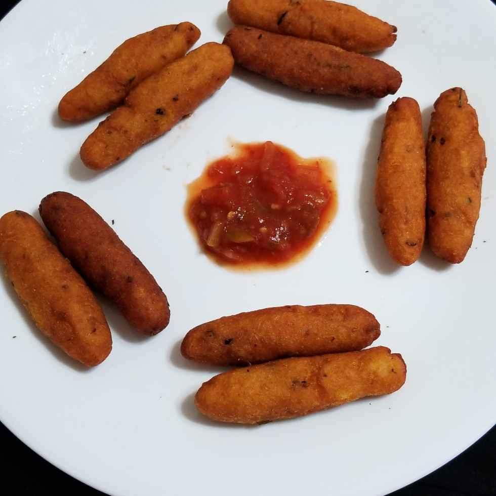 Photo of Crispy potato fingers by Lalitha Kandala at BetterButter