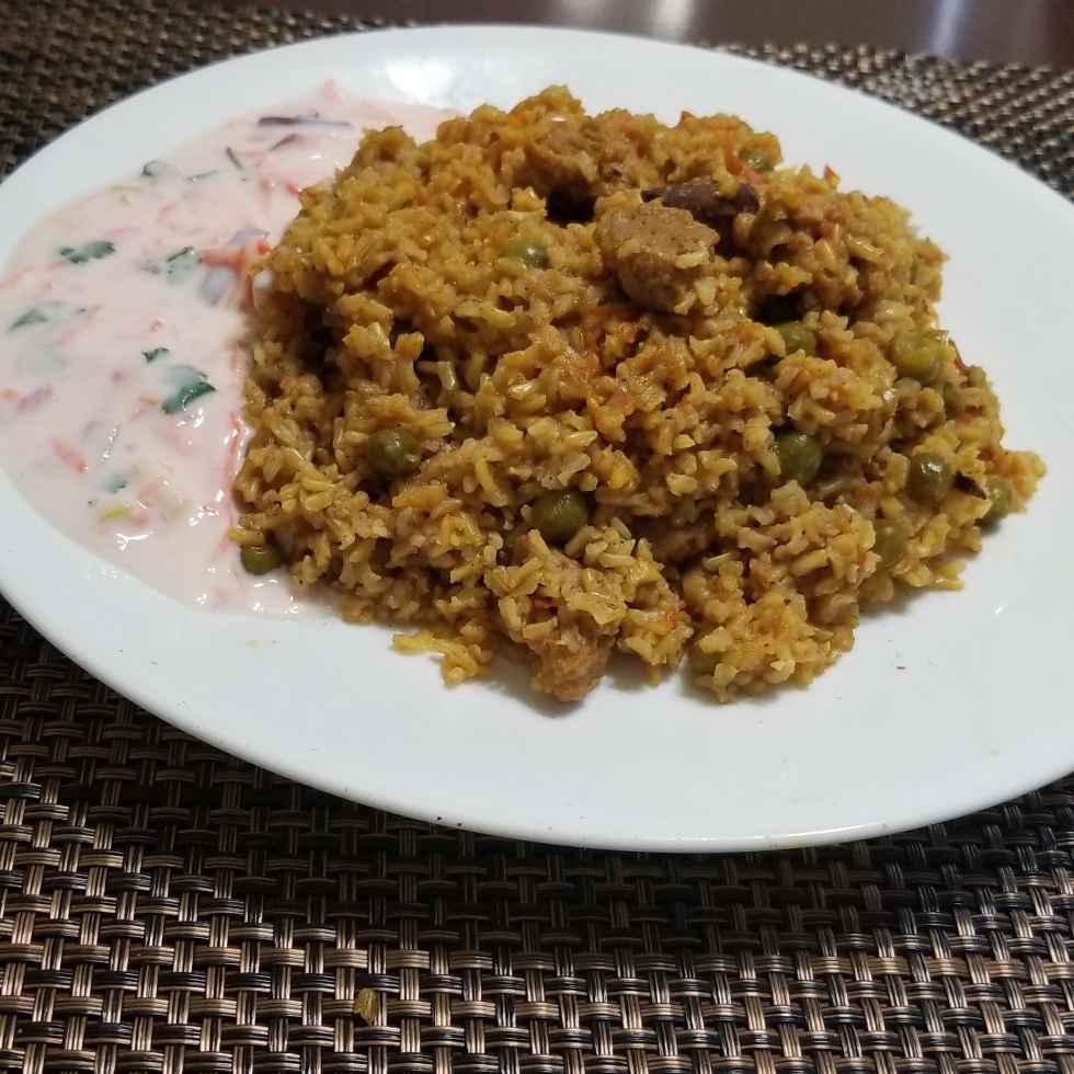 Photo of Brown rice soya chunks veggie pulav by Lalitha Kandala at BetterButter