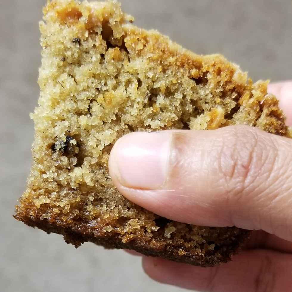 How to make Eggless wheat flour walnut & peanut butter cake