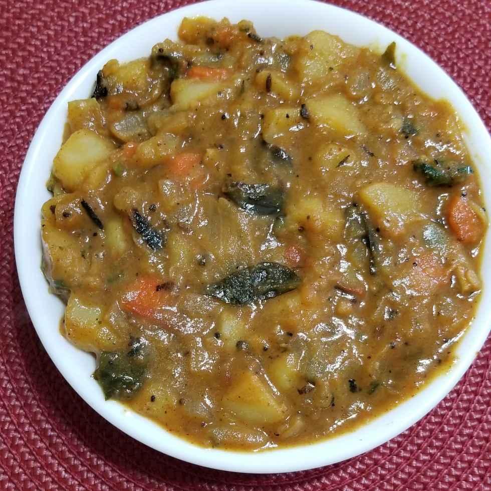 Photo of Potato masala curry by Lalitha Kandala at BetterButter