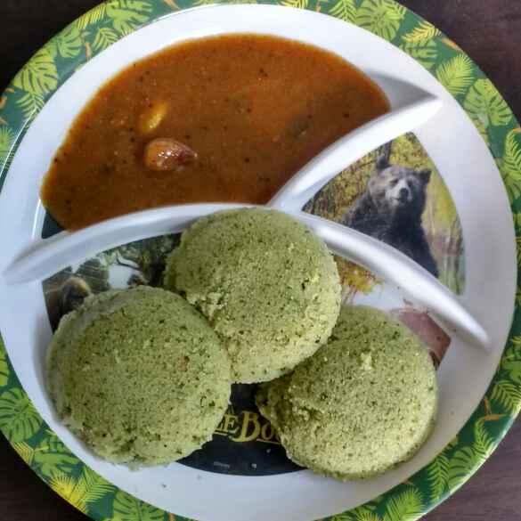 Photo of Mint Rava Idly by Sowmya Sundar at BetterButter