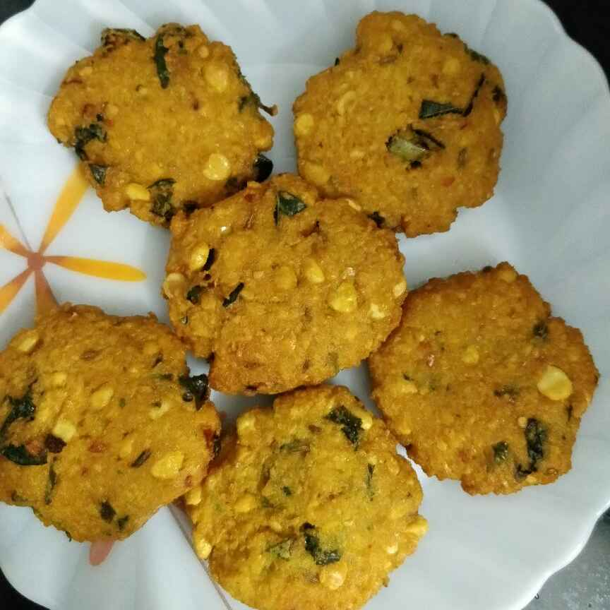 How to make Tri dal vada