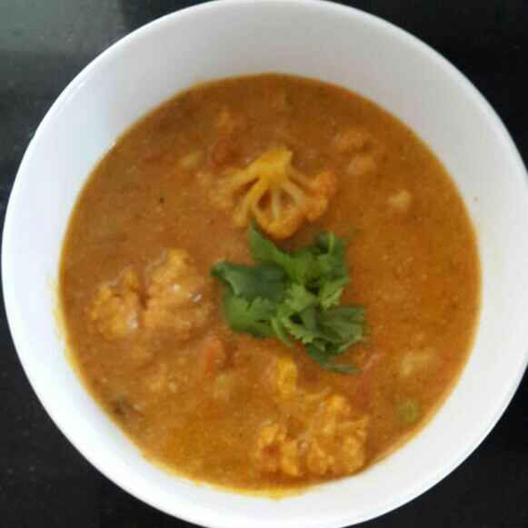 Photo of Cauliflower in curd masala by Sowmya Sundar at BetterButter