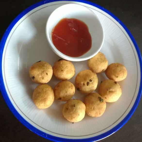 How to make Potato Peanut Balls