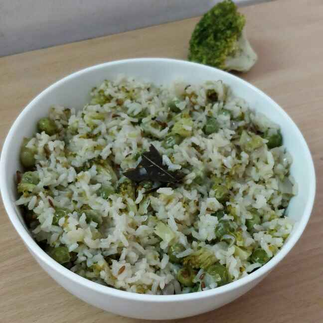 Photo of Broccoli Peas Pulao by Sowmya Sundar at BetterButter
