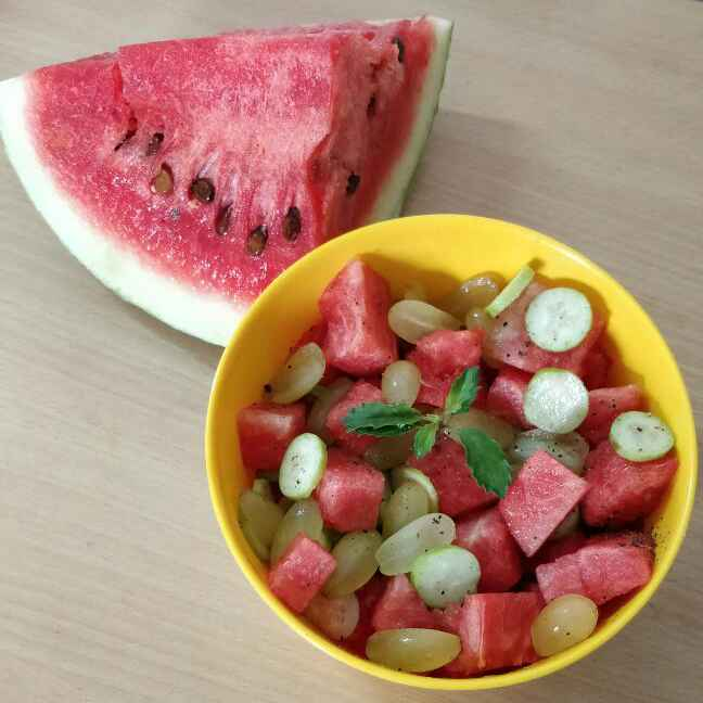 How to make Cooling Watermelon Salad