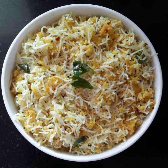 How to make Paruppu Usili sevai / Rice noodles with lentils